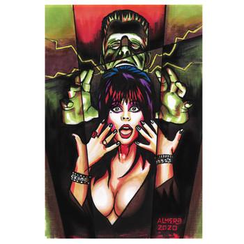 Marco Almera The Scream - Canvas Giclee