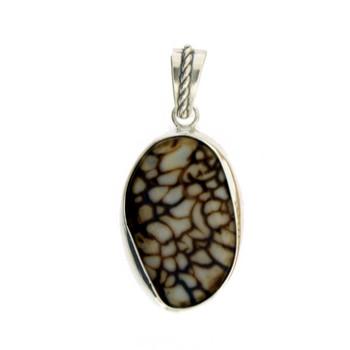 Handmade Agate pendant.