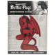 Bettie Page Little Devil Patch package view