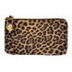 Leopard Wristlet Wallet Crossbody Purse front view