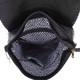 Vegan Leather Carolina Black Backpack Purse inside view