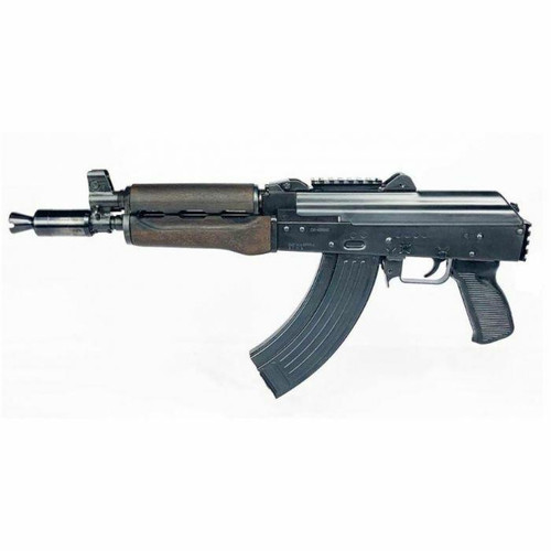 Zastava Arms USA Zastava ZPAP92 AK-47 Pistol BULDGED TRUNNION 1.5MM RECEIVER - Stained Wood Handguard or 7.62x39 or 10 Chrome Lined Barrel or Booster Brake or Rear Trunnion Picatinny Rail