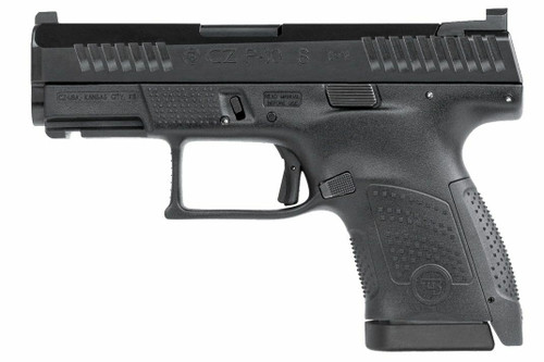 CZ CZ P-10 S Pistol - Black or 9mm or 3.5 Barrel or 12rd or Front Tritium Night Sight or Czech-made