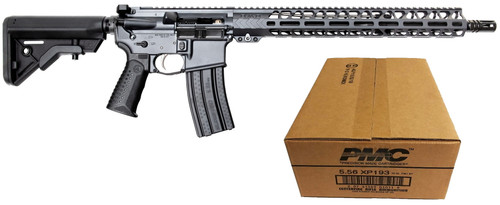 "Battle Arms Development Forged WORKHORSE Patrol Carbine AR Rifle - Combat Grey | 5.56NATO | 16"" Barrel 