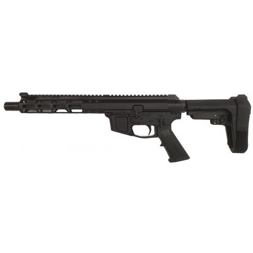 "FM FM9 Billet AR15 Pistol - Black | 9mm | 8.5"" Barrel 