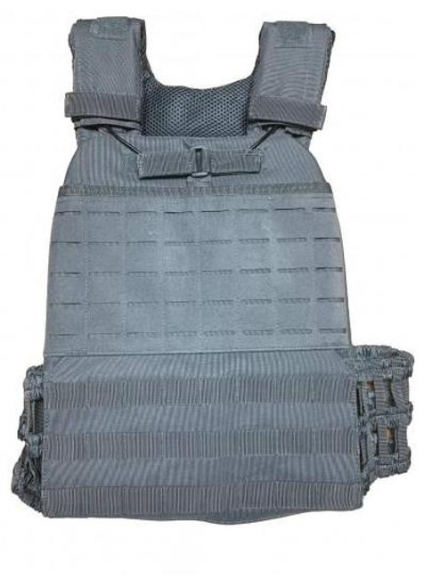 Guard Dog Guard Dog Tactical Boxer Plate Carrier or 2 Lbs/Per - Gray