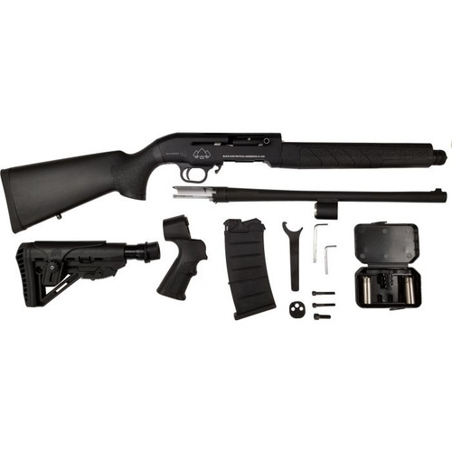 Black Aces Tactical Black Aces Tactical Pro Series M Semi-Auto Shotgun - Black or 12ga or 18.5 Barrel or KIT - ASSEMBLY REQUIRED