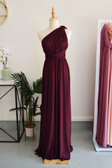 Classic Multiway Infinity Dress in Mulberry