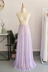 Tulle Overlay Skirt For Classic Multiway Dress in Light Purple