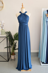 Classic Multiway Infinity Dress in Sapphire