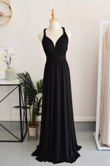 Classic Multiway Infinity Dress in Black