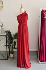 Classic Multiway Infinity Dress in Wine