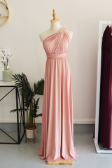 Classic Multiway Infinity Dress in Dusty Pink