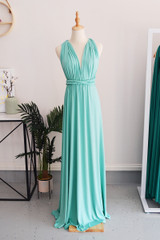 Classic Multiway Infinity Dress in Turquoise