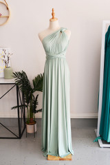 Classic Multiway Infinity Dress in Light Sage