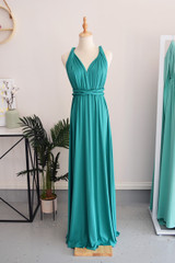 Classic Multiway Infinity Dress in Teal