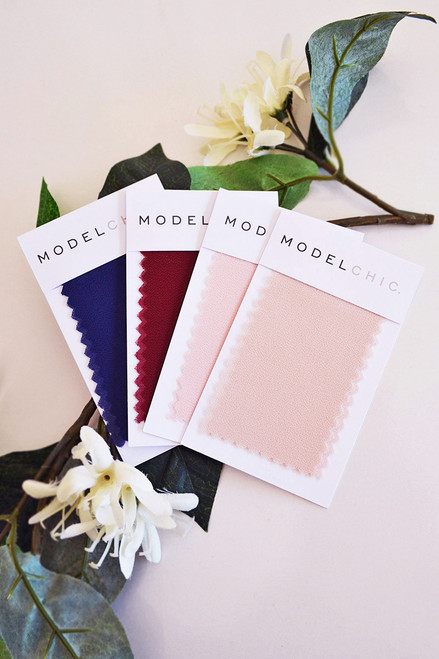 Chiffon Fabric Sample for Bridesmaids Dresses