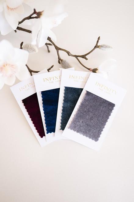 Fabric Sample for Velvet Infinity Dresses