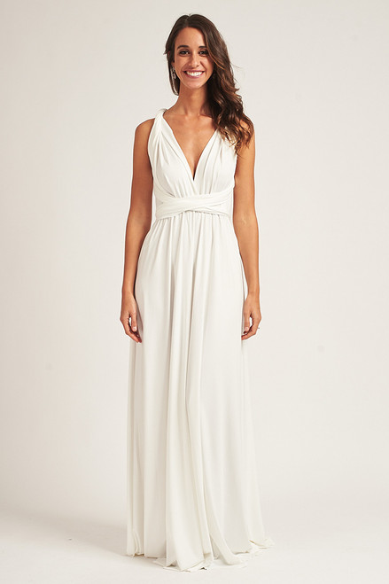 Classic Multiway Infinity Dress in Ivory