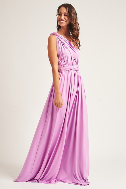 Classic Multiway Infinity Dress in Lilac