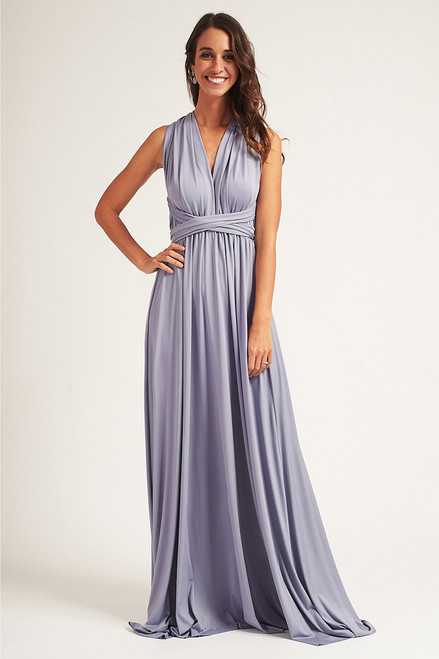 Classic Multiway Infinity Dress in Graphite