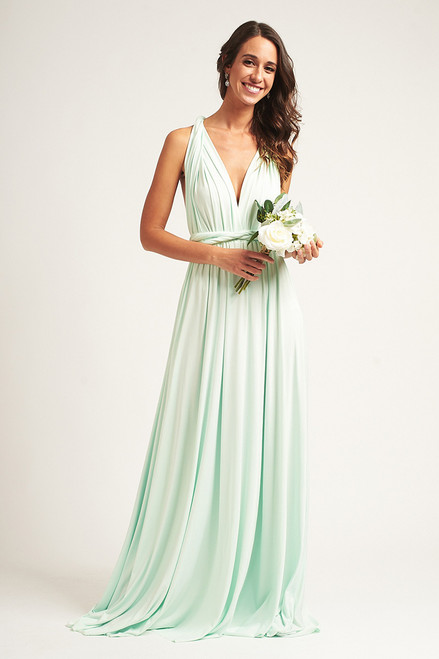 Classic Multiway Infinity Dress in Mint