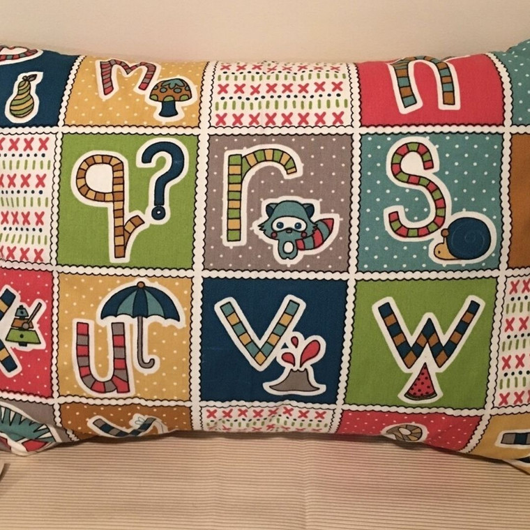 Wool Filled Pillows for kids with Organic Cotton Covers