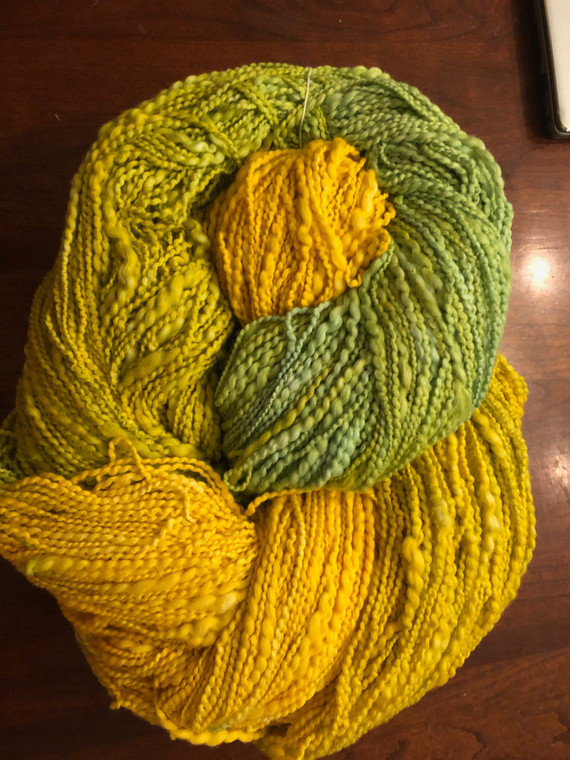 Cotton Thick/Thin Worsted Wt. Yarn