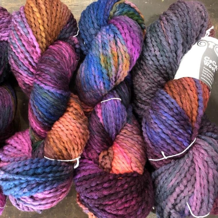 American Lamb Hand Dyed Bulky Yarn