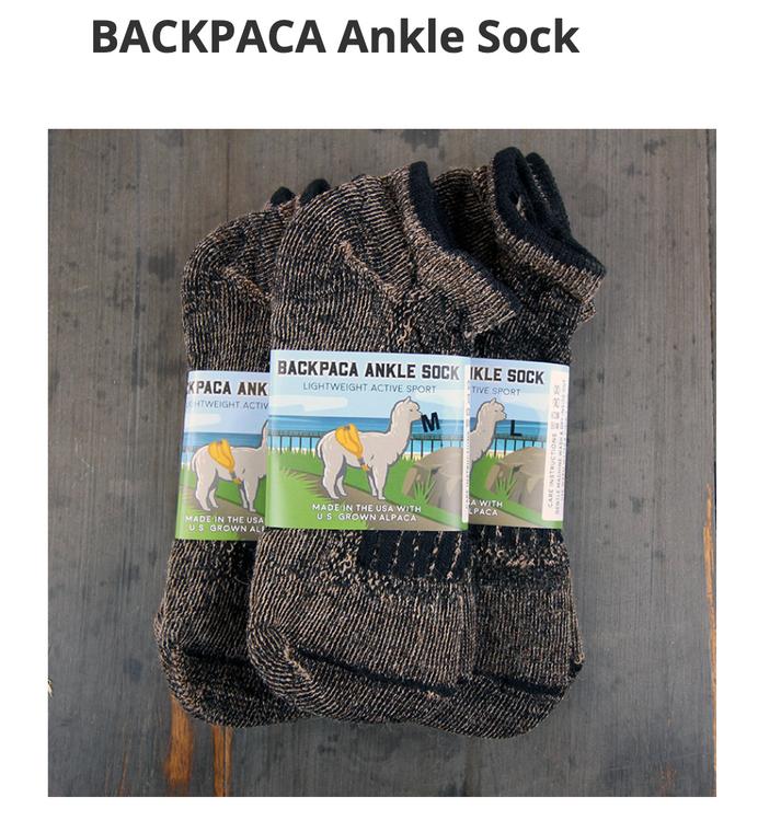 BACKPACA Ankle Socks