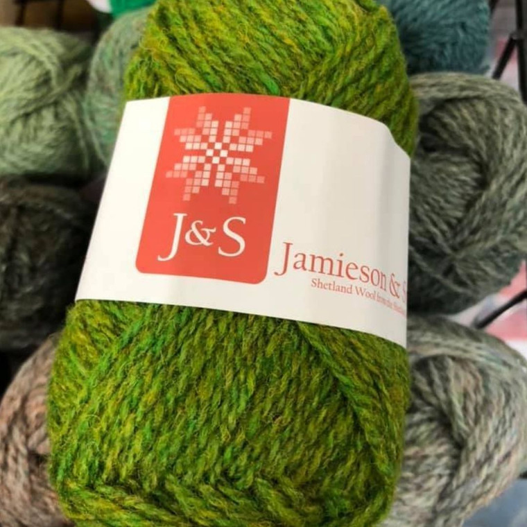 Jamieson and Smith 2 ply Jumper Weight (fingering) Shetland Wool Yarn