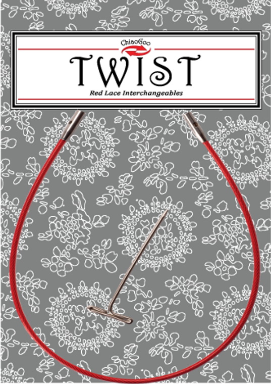 ChiaoGoo TWIST Small Red Cable