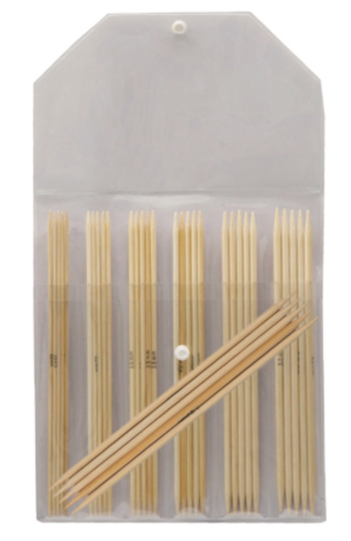 """Knitter's Pride 6"""" Bamboo Double Pointed Needle Sock Set"""