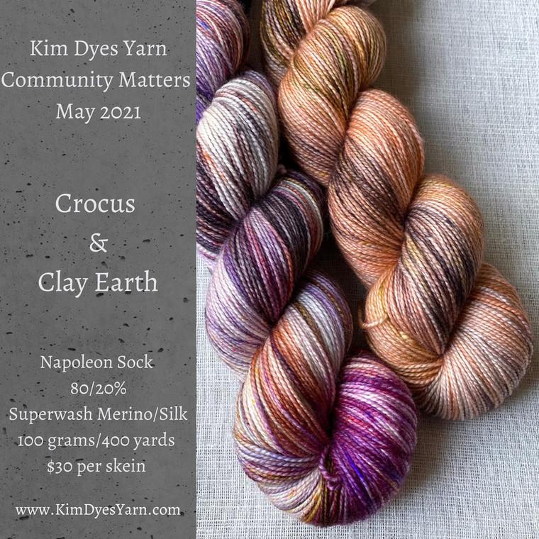 Kim Dyes Yarn Community Matters - May 2021
