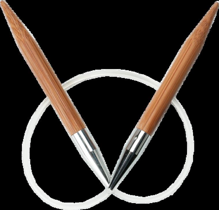 """ChiaoGoo Bamboo 9"""" Circular Knitting Needles"""