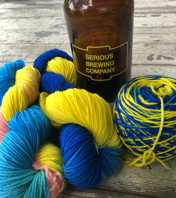 Serious Brewing Craft Beer Yarn
