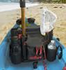 WingMan kayak and canoe fishing seat accessory pack
