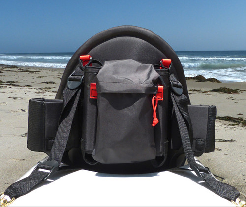 Back of Danuu Pacific Angler Fishing Seat
