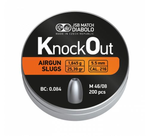 JSB KnockOut Slugs .22 | 25.39gr | 200 pcs.