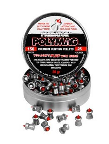 Predator Polymag .25 | 150 pcs | 25.39 gr