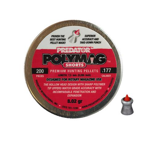 Predator Polymag Shorts .177 | 200 pcs | 8.02 gr