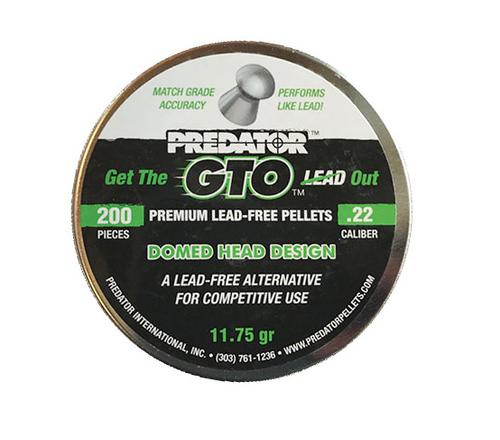 Predator GTO Lead Free Pellets .22 | 200 pcs | 11.75 gr *(PRE-ORDER)*