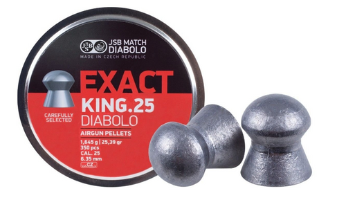 JSB King .25 | 350 pcs | 25.39gr