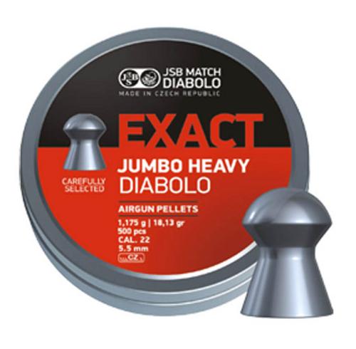 JSB Jumbo Heavy .22 | 500 pcs | 18.13 gr
