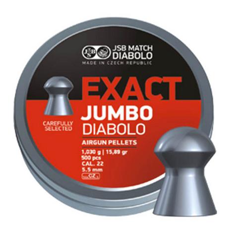 JSB Jumbo .22 | 500 pcs | 15.89 gr