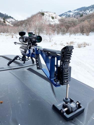 Saber Tactical Mono-Pod - Bench Version