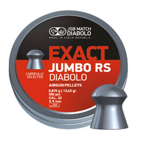 JSB Exact Jumbo RS .22 | 500 pcs | 13.43 gr