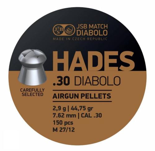 JSB Hades .30 | 44.75gr | 150 ct.