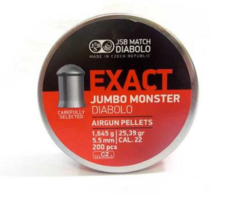 JSB Jumbo Monster .22 | 25.39 gr | 200 pcs