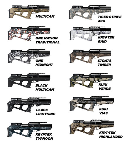 Hydro Dip - Synthetic Stock Airguns